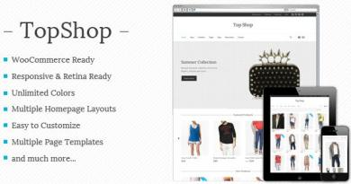 Top Shop - Multi-purpose WooCommerce theme 3