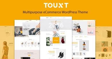 Touxt Multipurpose WooCommerce WordPress Theme 4