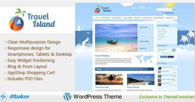 Travel Island WordPress 7