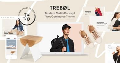 Trebol - Minimal & Modern Multi-Concept WooCommerce Theme 3