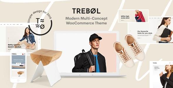 Trebol - Minimal & Modern Multi-Concept WooCommerce Theme 1