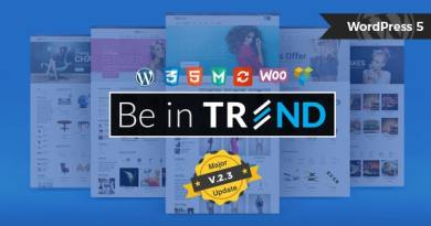 Trend - Multi-Niche WooCommerce Theme 2