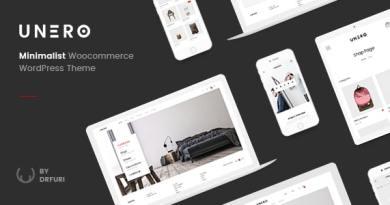 Unero - Minimalist AJAX WooCommerce WordPress Theme 2