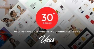 Urus - Multipurpose Responsive WooCommerce Theme 3