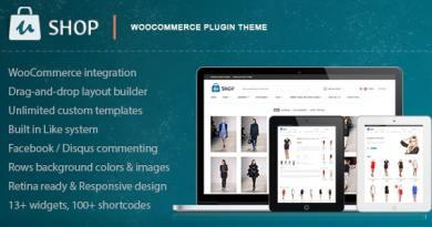 uShop - Responsive Retina WooCommerce Theme 2