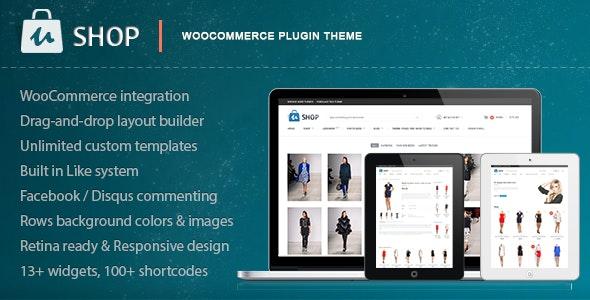 uShop - Responsive Retina WooCommerce Theme 1