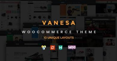 Vanesa - Responsive WooCommerce Fashion Theme 3