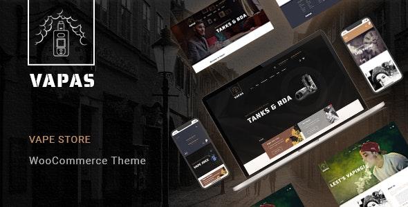 Vapas – Vape Store WooCommerce WordPress Theme 1