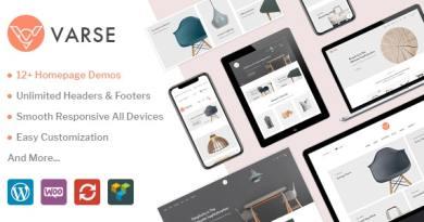 Varse - WooCommerce AJAX WordPress Theme 8