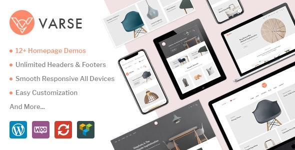 Varse - WooCommerce AJAX WordPress Theme 1