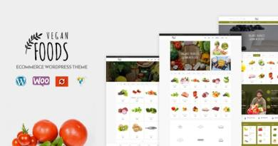Vegan Food - Organic Store Responsive WooCommerce WordPress Theme 4