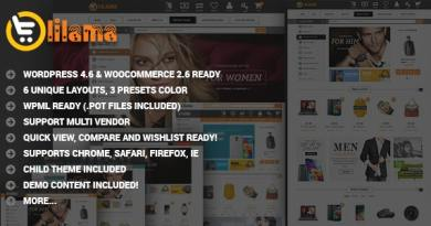 VG Lilama - Mega Shop Responsive WooCommerce Theme 4