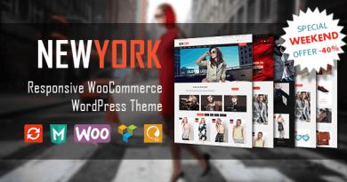 VG NewYork - Responsive WooCommerce WordPress Theme 2