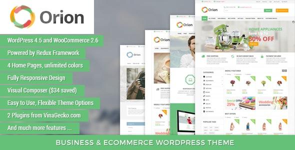 VG Orion - Business & eCommerce WordPress Theme 1