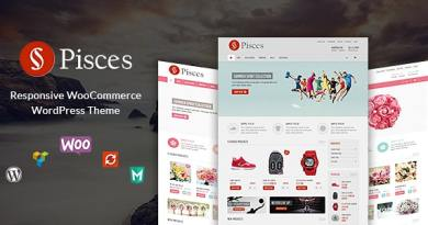 VG Pisces - Responsive WooCommerce WordPress Theme 3