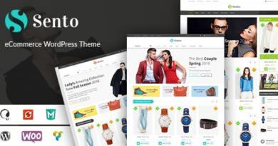 VG Sento - eCommerce WordPress Theme for Fashion Store 2