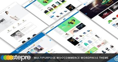 VG Stepre - Multipurpose WooCommerce WordPress Theme 2