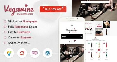 VG VegaWine - Wine, Winery and Vineyard WooCommerce Theme 3