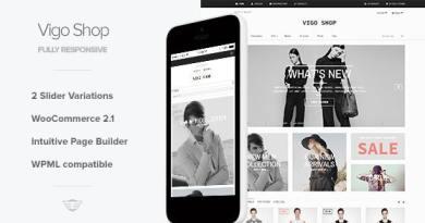 VigoShop - Elite Responsive WooCommerce Theme 3