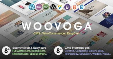 Voga - Multi-Purpose WooCommerce EasyCart WP Theme 4