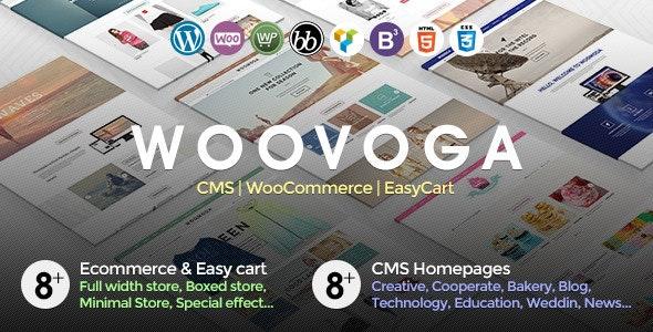 Voga - Multi-Purpose WooCommerce EasyCart WP Theme 2