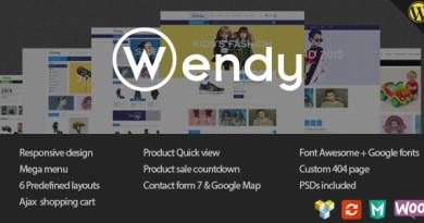 Wendy - Multi Store WooCommerce Theme 2