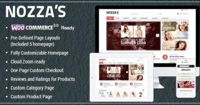 WooCommerce WordPress Theme - FashionZozza 4