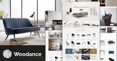 Woodance Furniture | Porfolio WooCommerce WordPress Theme 4