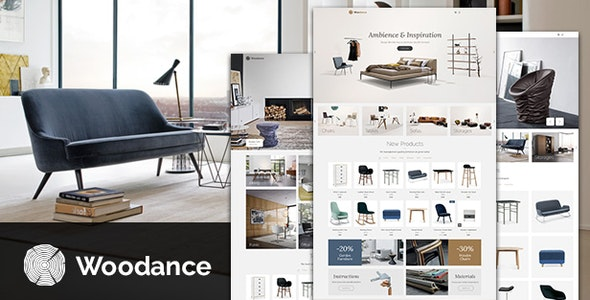 Woodance Furniture | Porfolio WooCommerce WordPress Theme 1
