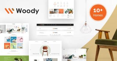 Woody - Furniture WooCommerce WordPress Theme 3
