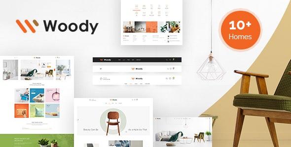 Woody - Furniture WooCommerce WordPress Theme 5