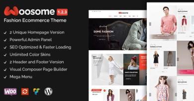 Woosome - Fashion & Lifestyle WooCommerce WordPress Theme 3