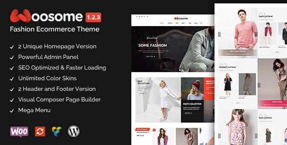 Woosome - Fashion & Lifestyle WooCommerce WordPress Theme 1