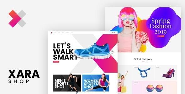 Xara - Responsive WooCommerce Shop Theme 4
