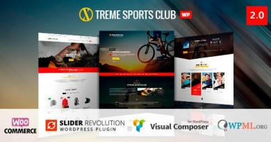 Xtreme Sports - WordPress Theme 2