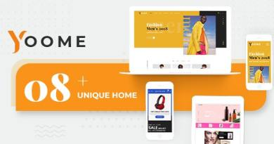 Yoome - Modern WooCommerce WordPress Theme 4