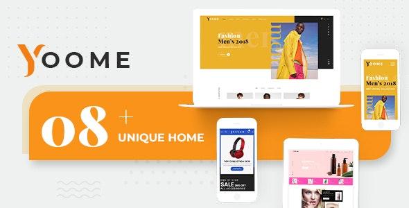 Yoome - Modern WooCommerce WordPress Theme 1