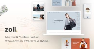 Zoli - Fashion WooCommerce WordPress Theme 3