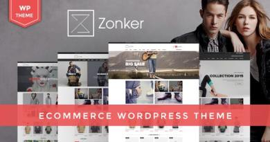 Zonker - WooCommerce WordPress Theme 4