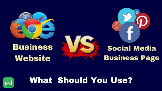 Business Facebook or Business Website?