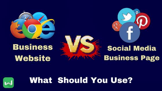 Business Facebook or Business Website?