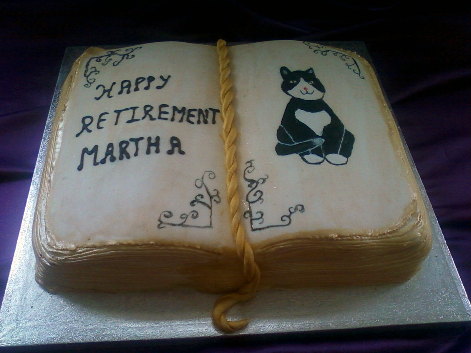 Ideas For Retirement Cakes Phrases