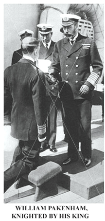 While commanding HMS Antrim, he escorted King Edward VII to