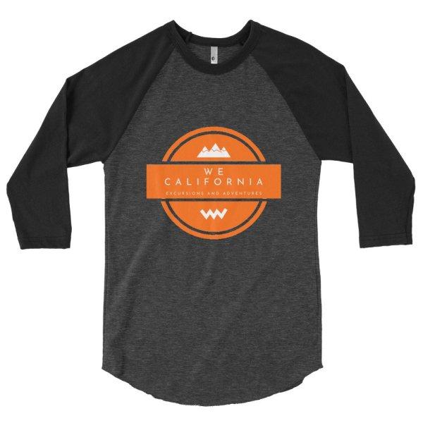 3/4 sleeve raglan shirt 3