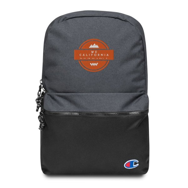 Embroidered Champion Backpack 1