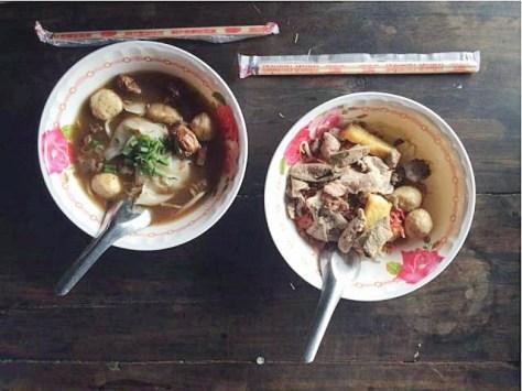 Noodles in Thailand