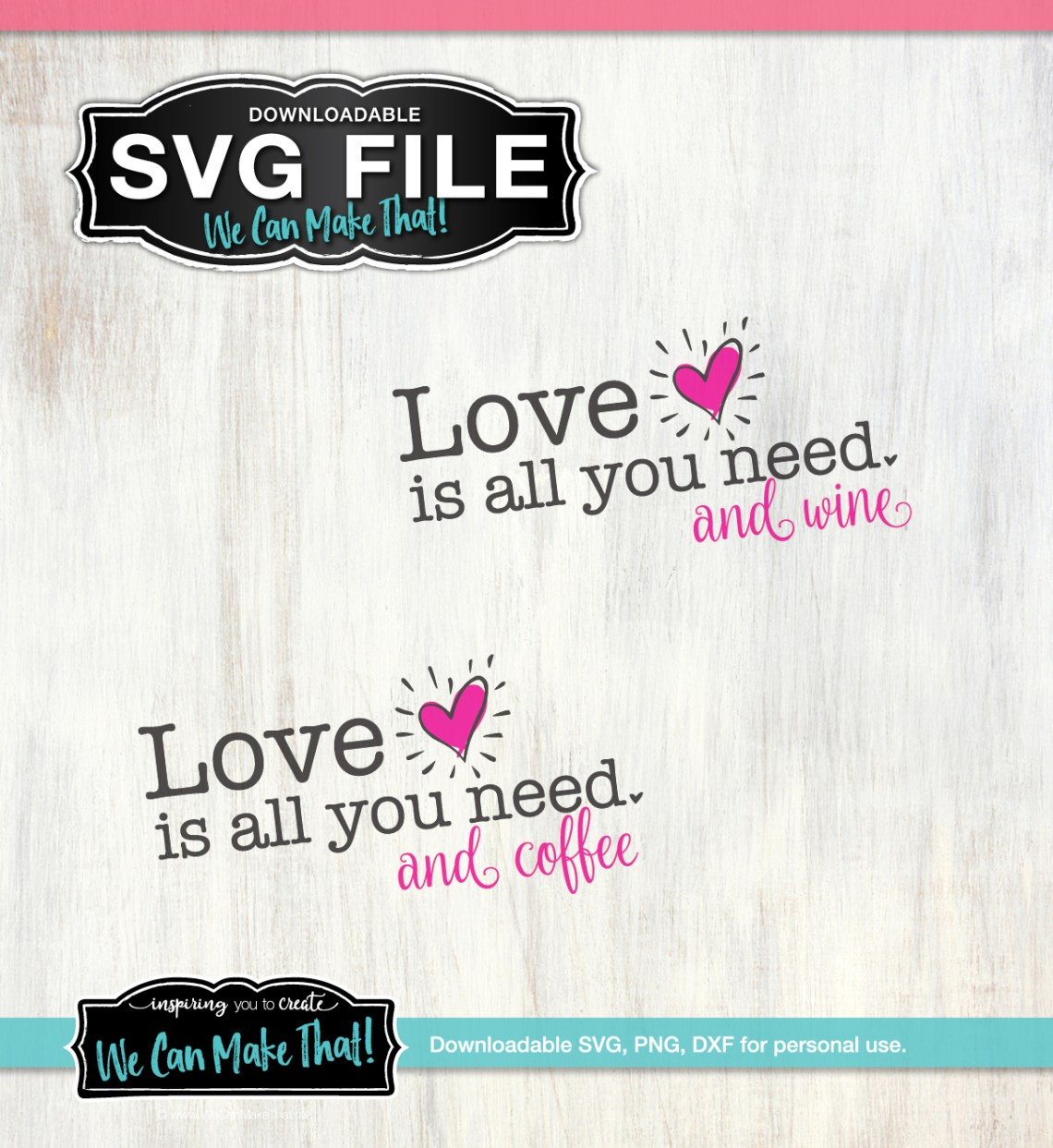 Download Love Is All You Need SVG