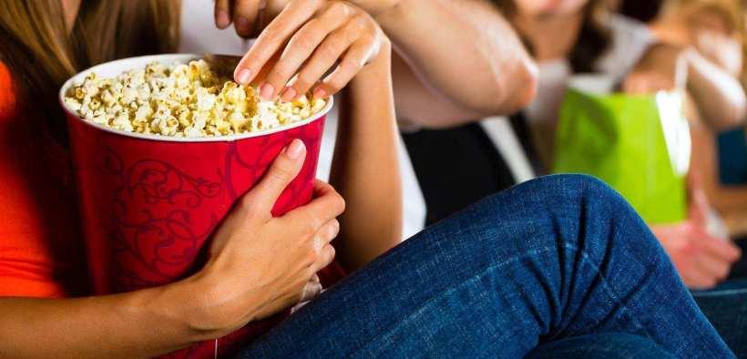 popcorn at movie