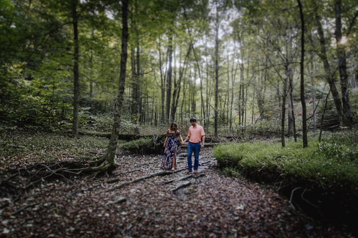 Bernheim Forest Engagement Photography