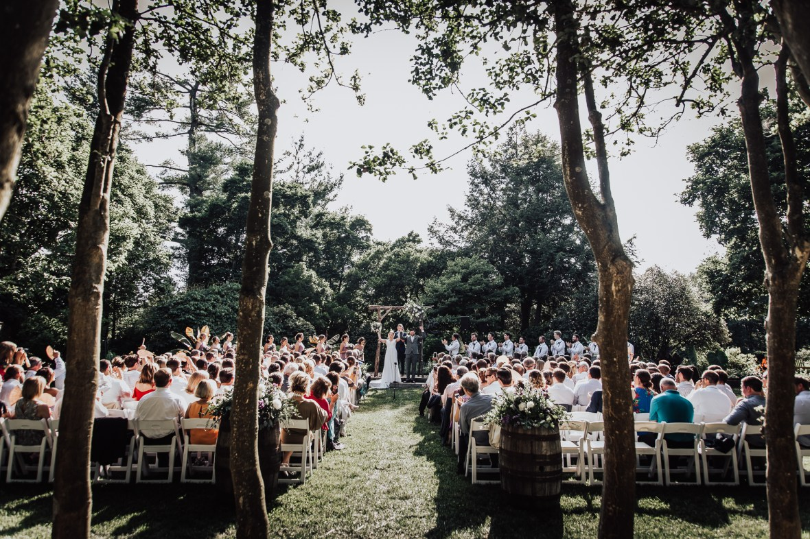 Yew Dell Botanical Garden Wedding Photography